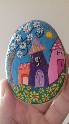 Crafts Questo articolo non è disponibile. Stone Art Painting, Dot Art Painting, Pebble Painting, Pebble Art, Rock Painting Patterns, Rock Painting Ideas Easy, Rock Painting Designs, Painted Rocks Craft, Hand Painted Rocks