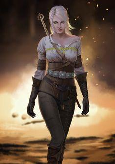 Witcher Ciri (by devenum) : witcher