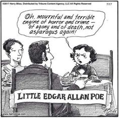 Little Edgar Allan Poe