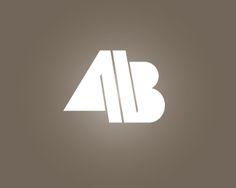 Image result for AB logos Letter Logo, Logo Design, Abs, Branding, Lettering, Shapes, Image, Design Logos, Cards