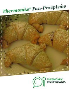 Rogaliki trzy składniki jest to przepis stworzony przez użytkownika kszymczak. Ten przepis na Thermomix<sup>®</sup> znajdziesz w kategorii Słodkie wypieki na www.przepisownia.pl, społeczności Thermomix<sup>®</sup>. French Toast, Breakfast, Food, Thermomix, Morning Coffee, Essen, Meals, Yemek, Eten