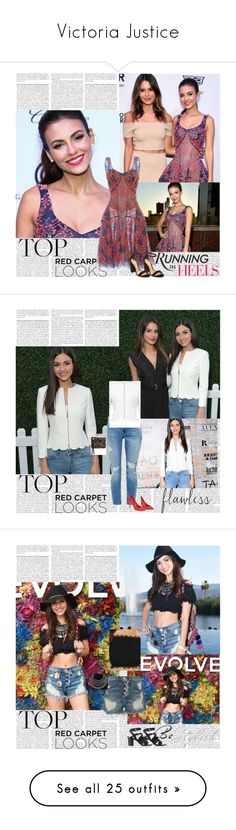 """""""Victoria Justice"""" by tvshowobsessed ❤ liked on Polyvore featuring BasicGrey, Alexis Bittar, Gucci, MICHAEL Michael Kors, Zhenzi, Armani Jeans, CB2, Linda Farrow, Byredo and abcDNA"""