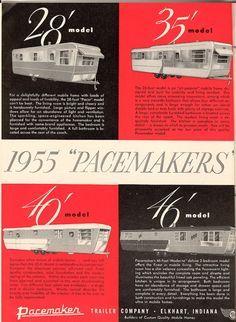 Vintage Travel Trailer Brochure On Americans 1946 Tudor Tandem And HomeStead Models At Mobile Home Living Mobilehomelivingorg