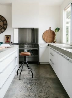 Nice Raw Beauty Gorgeous Spaces with Concrete Floors Apartment Therapy