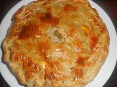 Tourte+au+cerf+et+champignons+des+bois Lasagna, Pizza, Cheese, Ethnic Recipes, Desserts, Christmas, Torte Recipe, Tarts, Deer Meat