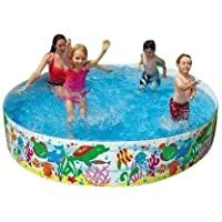 Kashish Trading Company Bestway Swimming Pool Not Inflatable Multicolor Bathtub For Kids Children Playing Bestway Swimming Pools Cool Swimming Pools Kid Pool