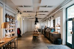 The Coffee Collective head office and roastery in Copenhagen.