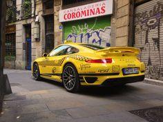 Porsche 911 Turbo S Taxi