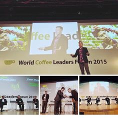 """Very humbled to be invited to speak at the World Coffee Leaders Forum. Thank you! Words from @josephsbrodsky                  """"3 of 6 World Coffee Leaders 2015 speaker invitees are Ninety Plus Coffee partners: NP Ethiopia, Abdellah Bagersh; NP China, Jason Wang; and I. It was an incredible honor for us to share the stage with legends George Howell and Brett Smith, president of Counter Culture."""" #wclf2015"""