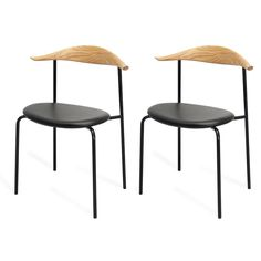 Modern Chairs for Your Space Side Chairs, Dining Chairs, Cool Kitchens, Kitchen Dining, Furniture, Home Decor, Color, Products, Homemade Home Decor