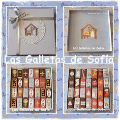 Caja de minichocolatinas para endulzar la Navidad! http://www.lasgalletasdesofia.blogspot.com