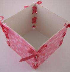 handmade paper boxes instructions