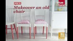 Makeover an old chair