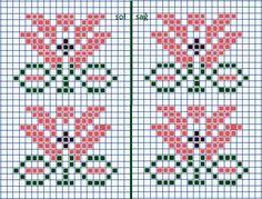 Knitting Charts, Knitting Patterns, Crochet Patterns, Cross Stitch Alphabet, Cross Stitch Patterns, Knitted Mittens Pattern, Chicken Scratch, Chart Design, Tunisian Crochet