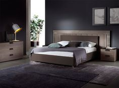 Ali Italian Platform Bed by Rossetto - $2,295.00
