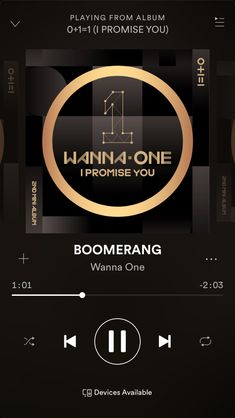 Wanna One - Boomerang Kpop, Playlist Music, Song Suggestions, Aesthetic Songs, Listen To Song, Mood Songs, Song Play, Insta Photo Ideas, Music Wallpaper