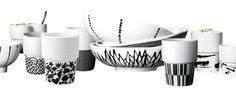 I like these patterns Nordic Design, Porcelain, Ceramics, Dishes, Patterns, Tableware, Glass, Shop, Diy