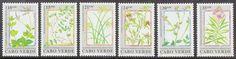 Cape Verde Medicinal Plants (Scott #598-603) MNH - bidStart (item 27252110 in Stamps... Portuguese Colonies)