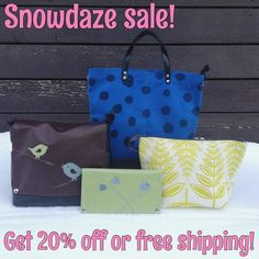 Get 20% off all full price QB goods #intheshop  use the discount code SnowDaze20 online -OR- SnowDazeShip for free shipping thru 1/15  keep in mind that many items are still in production & may not be ready right away
