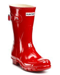 Hunter Women's Original Short Glossy Rain Boots   Bloomingdale's