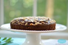 Almond Chocolate Cake  :http://www.sweetashoney.co/almond-chocolate-cake/