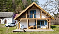 Home Fashion, Poland, Cabin, House Styles, Home Decor, Decoration Home, Room Decor, Cabins, Cottage