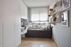 Dröm Living: Especialistas en reformas integrales e Interiorismo en Barcelona Childrens Bedroom Decor, My Room, Entryway, Cabinet, Interior Design, Storage, Furniture, Home Decor, Bedroom Ideas