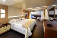 Petrus II - The yacht is designed to accommodate a crew of seven.