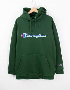 Champion Oversize Kapşonlu Erkek Hoodie MD9869YS Hoodies, Sweatshirts, Sweaters, Fashion, Moda, Fashion Styles, Parka, Trainers, Sweater