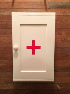 Essential oil First Aid Cabinet by Woodardcreations on Etsy