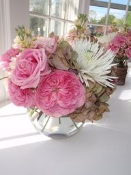 Flowers for girl baby shower