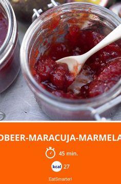 Erdbeer-Maracuja-Marmelade - smarter - Kalorien: 27 Kcal - Zeit: 45 Min. | eatsmarter.de