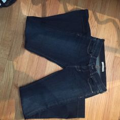 J Brand Jeans Price Lowered! J Brand Jeans, inseam 28 inches. Rise 8 inches. Great condition. Dark wash. J Brand Jeans