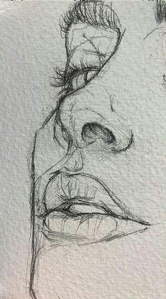 easy drawings for beginners / easy drawings . easy drawings for beginners . easy drawings step by step . easy drawings for kids . easy drawings for beginners step by step . easy drawings for beginners simple . Easy Pencil Drawings, Pencil Sketch Drawing, Cool Art Drawings, Art Drawings Sketches, Drawing Ideas, Drawing Base, Disney Drawings, Drawing Tips, Easy Portrait Drawing