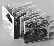 Accordion style books