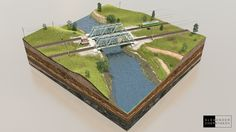 The Bridges on Behance