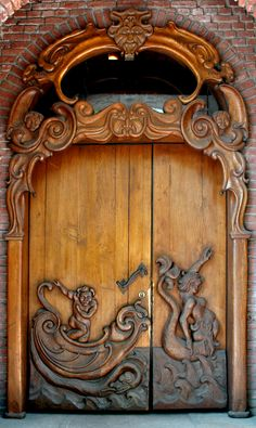 www.HomesatSanDiego.com St. Nikolai Memorial - Hamburg, Germany carved door by Drezdany stocks on deviantart | JV
