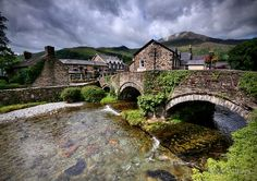 Beddgelert, is a village and community in the Snowdonia area of Gwynedd, Wales. It is reputed to be named after the legendary hound Gelert.