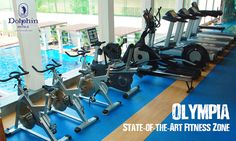 Relax & Rejuvenate in Olympia's Fitness Zone at Dolphin Hotel Vizag.