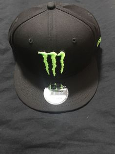 8fa9db979a8d41 Monster Energy New Era 9Fifty Athlete Snapback Hat Cap NEW #fashion  #clothing #shoes
