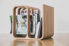 Woodieful: Chair, Magazine Holder + Side Table