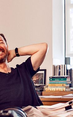 Ricky Gervais tells how he learned the power of writing about the ordinary. #writingtips