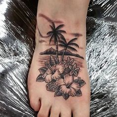 50 Superb Palm Tree Tattoo Designs and Meaning