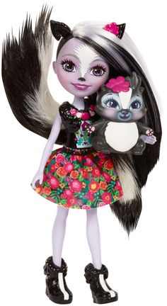 Enchantimals 6-inch Fashion Doll - Sage Skunk