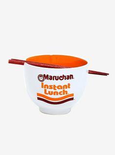 Maruchan Ramen Bowl with Chopsticks,