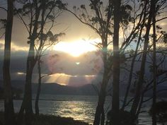 Sunset in Great Bay - Bruny Island