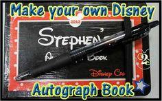 Disney Souvenir: Create Your Own Autograph Book.