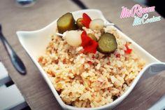 Mi Rincón, Mi Cocina - Repostería Creativa y Tradicional, Salados - Recetas de cocina: Ensalada de verano con arroz, atún y banderitas | Rice and tunna summer salad