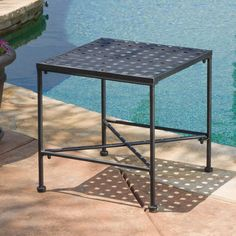 Outdoor Best Selling Home Decor Furniture Addison End Patio Table - 296745 Outdoor End Tables, Outdoor Seating Areas, Patio Table, Patio Chairs, Side Tables, Living Furniture, Home Decor Furniture, Outdoor Furniture, Outdoor Decor