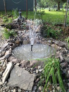 DIY pond made from 2 tractor tires